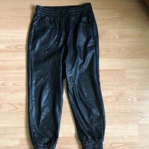 🛍2/15 $ Sale !Zara faux leather pants , size XS .